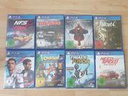 Ps4 Spiele Sammlung einzel verkauf