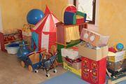 Sachen aus Montessori-Spielgruppe