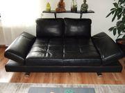 Couch mit Schlaffunktion Material echtes