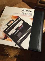 Filofax Statford Leder- Aktentasche Konferenztasche