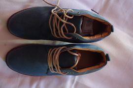 Schuhe, Stiefel - Leder Schuhe Türkis Sommer Herbst