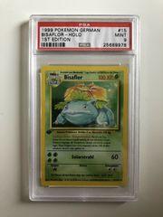 Pokemon Karte Bisaflor First Edition