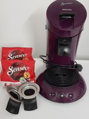 Philips Senseo Kaffee-Pad-Maschine in Lila