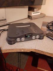 Alte Nintendo 64 Konsole