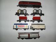 11 Märklin H0 Diesellokomotive Güterwagen