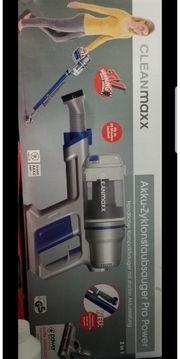 CleanMaxx Akku-Zyklonstaubsauger Pro Power