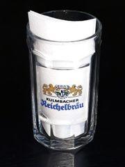 Kulmbacher Reichelbräu Glaskrug Krug SAHM