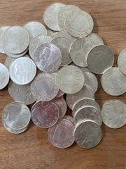 Kaufe Silbermünzen - kleine Münzsammlung