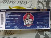 Konzertkarte für Peter Kraus