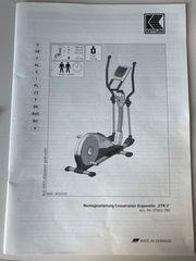Kettler Crosstrainer Ergometer CTR3