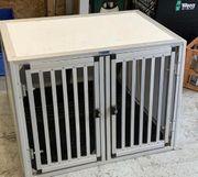 Hundetransport Box von WT Metall