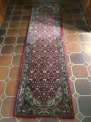 Teppich-Läufer 280x76 cm rot Top-zustand