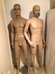 Schaufenster Puppen 2 STK männlich -