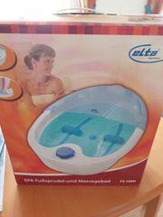 ELTA Fußsprudel- und Massagebad