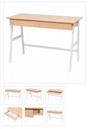 Schreibtisch 110×55×75 cm Eichenbraun und