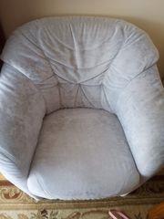 Kleine Couch mit Recamiere und