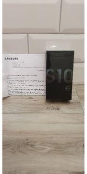 Samsung Galaxy S10e Schwarz Neu