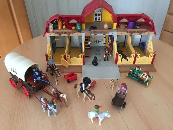 Playmobil Pferdehof inkl Zubehör