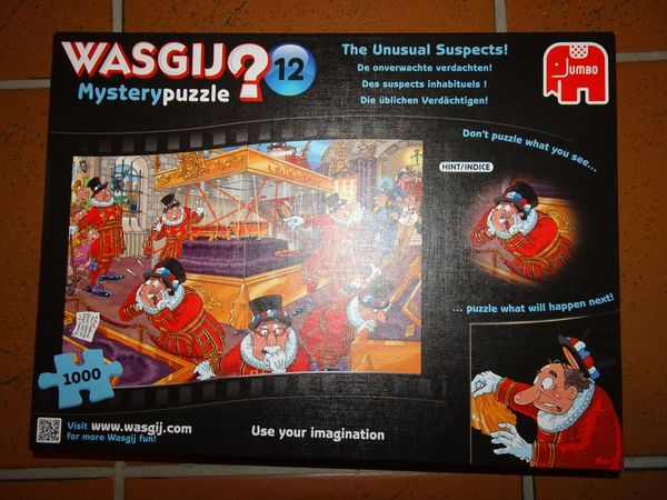 Puzzle Die üblichen Verdächtigen von
