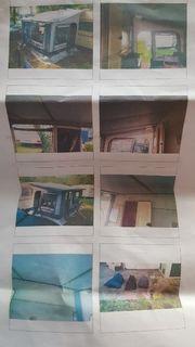Wohnwagen-Vorzelt Camping