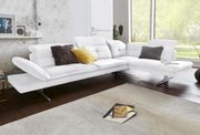 -55 Ecksofa Weiß exxpo Sofa