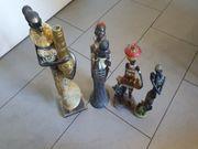 Afrikanische Figuren Handarbeit