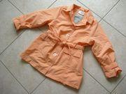 Mantel - Jacke aprikot Gr 98