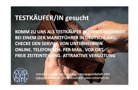 Testkäufer (m/w/d) in freier Mitarbeit in 09599 Freiberg