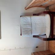Ikea Poäng Sessel mit Hocker