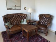 Englische Chesterfield Couch Sessel