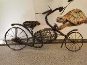 Motorrad Eigenbau aus Draht