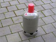 Leere Propangasflasche zum befüllen