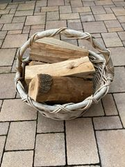 stabiler Korb für Brennholz