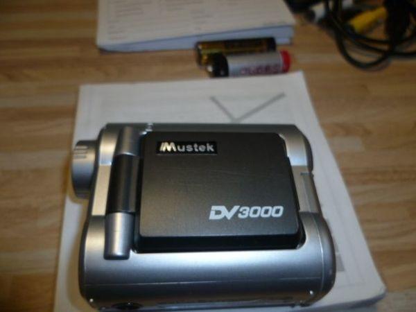 Digitalkamera Camcorder Mustek DV3000 Nr