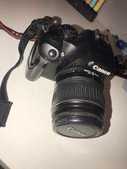 Canon Kamera 1000D mit Zubehör