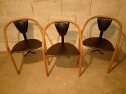 Stühle 3 Stück Designer Stühle
