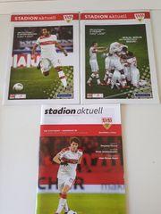 VFB Stuttgart - 3 Stadionhefte