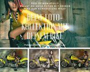 Du und dein Bike Fotoshooting