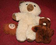 Teddy 35cm und Teddykind 16cm