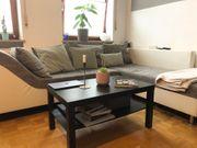 Couch in grau-weiß