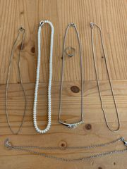 Silber Schmuck diverse Ketten Perlenkette