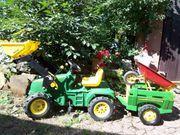 RollyToys Traktor mit Frontschaufel und