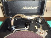 Grammophon in Kasette in schönem
