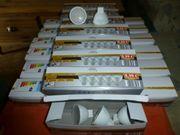 100 LED-Leuchtmittel GU5 3 warmweis