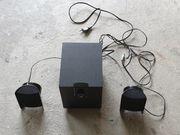 Musik-Box mit verstellbaren Laut-und Bassstärke