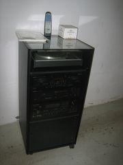 ONKYO Stereoanlage mit Schrank