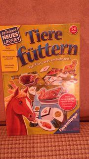 Kinderspiel Tiere füttern zu verkaufen