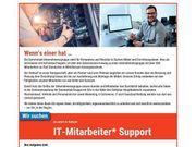 IT-Mitarbeiter m w d Support