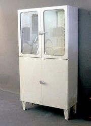 1950-60er Krankenhaus Arzt Möbel Lampe