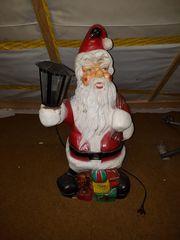 Weihnachtsmann Santa mit Beleuchtung